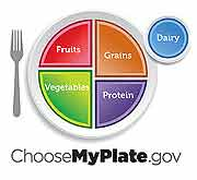 Choose My Plate icon
